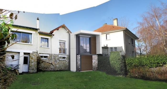 Extension d'une maison 1930