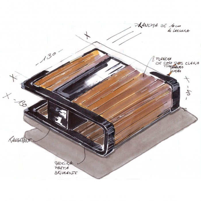 Meubles : coffee table