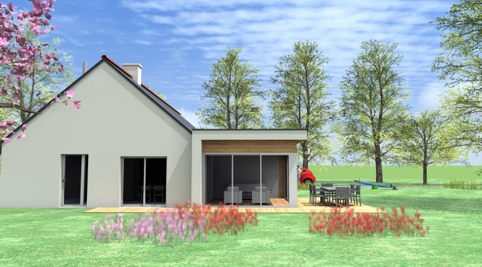 Extension projet g q bou xi re la - Extension maison phenix ...