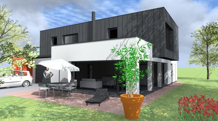 Maison neuve - Projet L+P