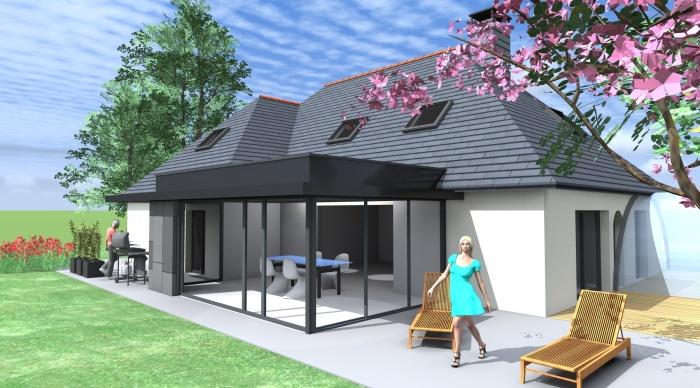 extension p p bruz. Black Bedroom Furniture Sets. Home Design Ideas