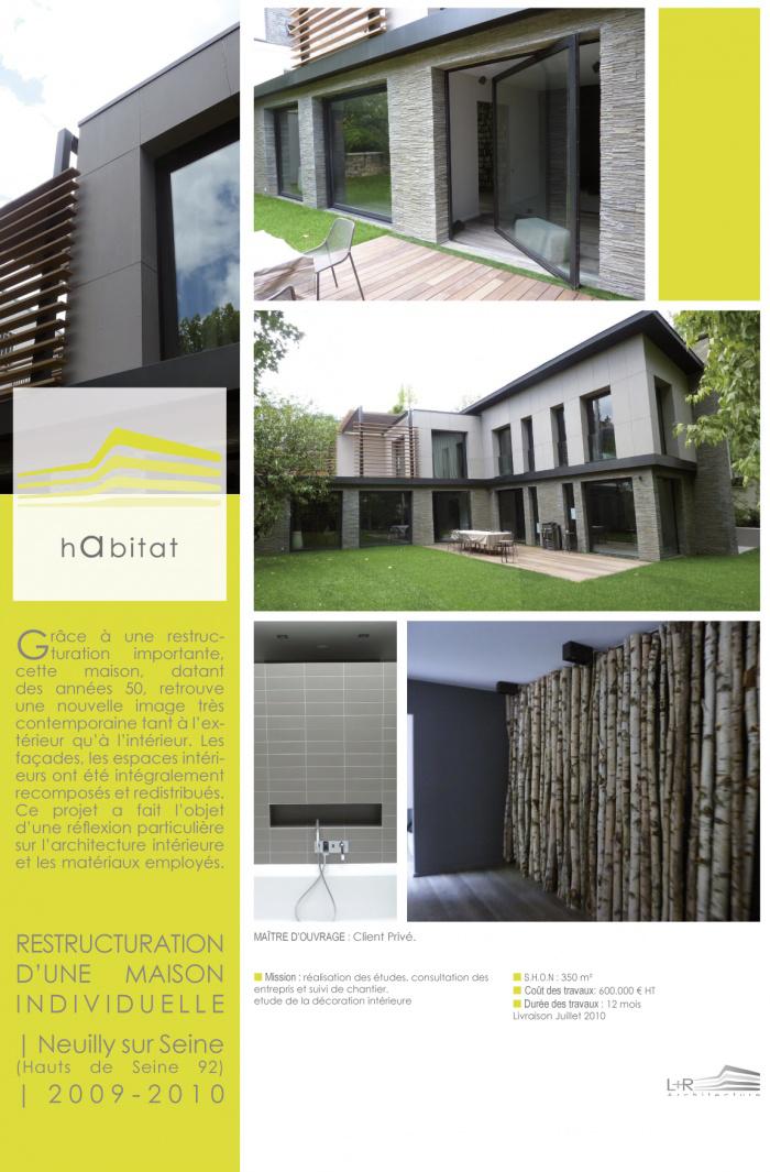 Restructuration d'une maison
