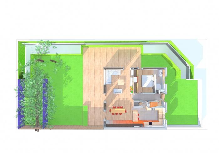 Réaménagement d'une maison Individuelle : plan