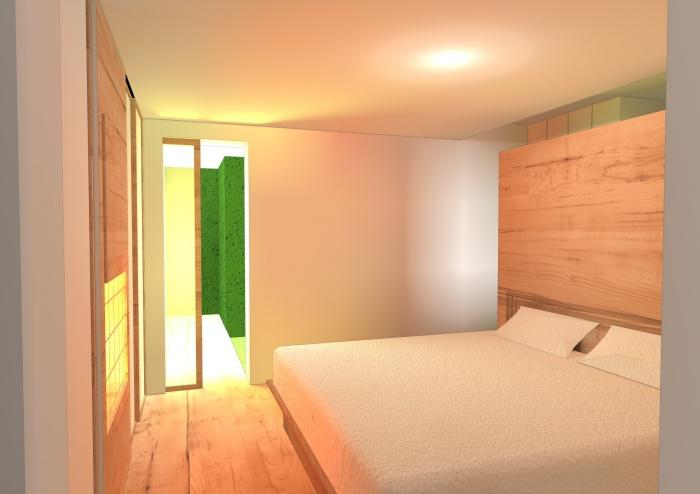 Réaménagement d'une maison Individuelle : chambre