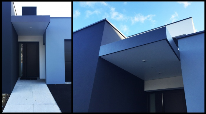 Maison neuve - Projet B+B : 3 Maison neuve architecte rennes lise roturier architecte rennes 35 agence 2.2vues moderne contemporaine toit plat