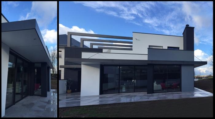 Maison neuve projet b b noyal sur vilaine for Architecte interieur rennes
