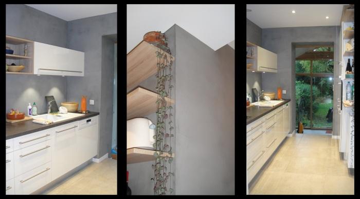 Aménagement intérieur : 2 - Renovation intérieur maison rennes architecte rennes lise roturier architecte rennes architecte 35 servon sur vilaine agence 2.2 vues