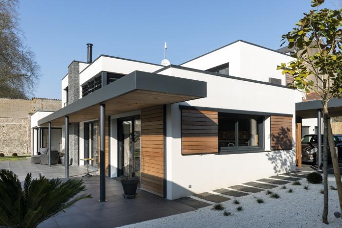Construction d'une maison contemporaine : LR-Popoff-09